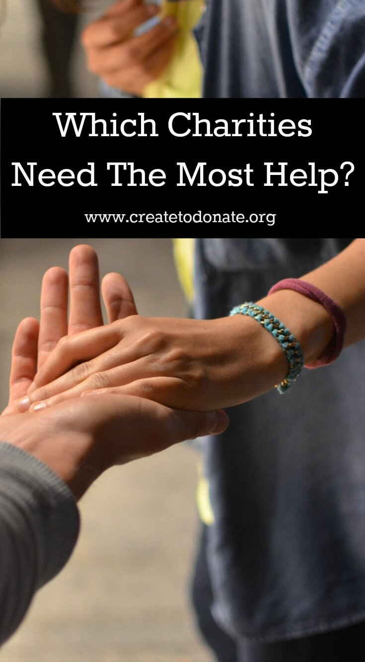 Let's Create To Donate for Charities Needing Help