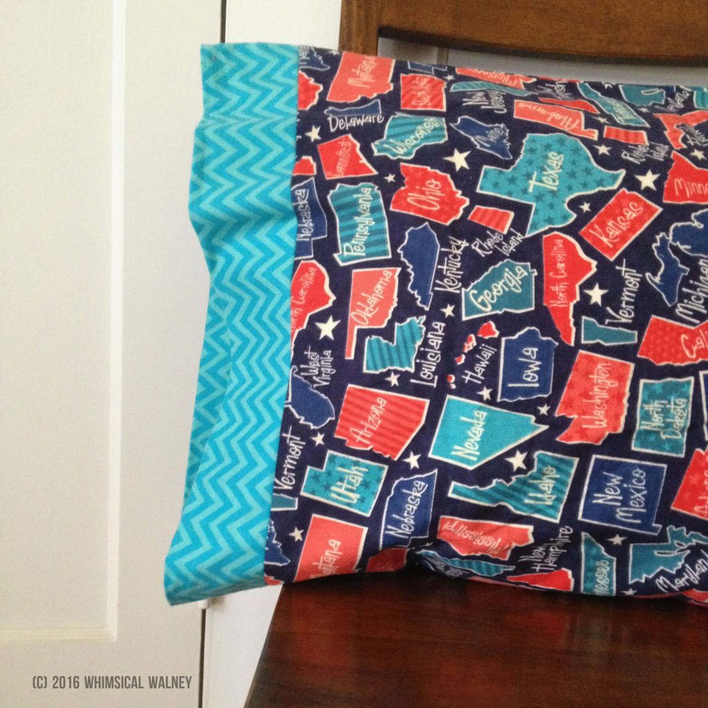 Sew pillowcases for cancer patients.