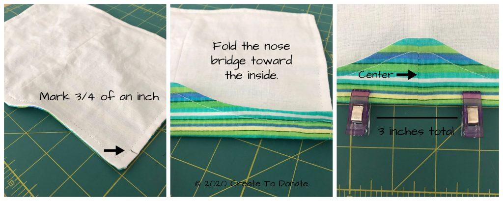Make a face mask nose bridge.