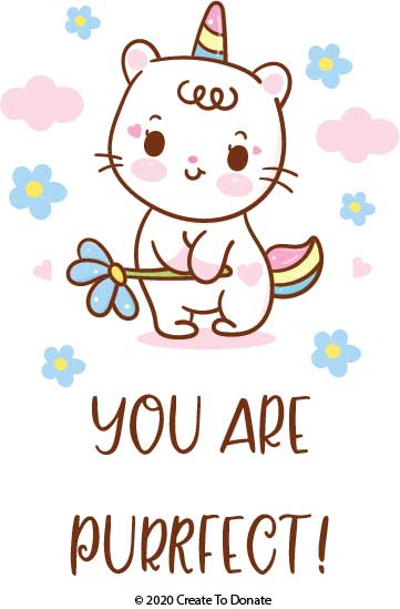 The third of three free cat SVG files for projects meant for personal use and handmade card donations.
