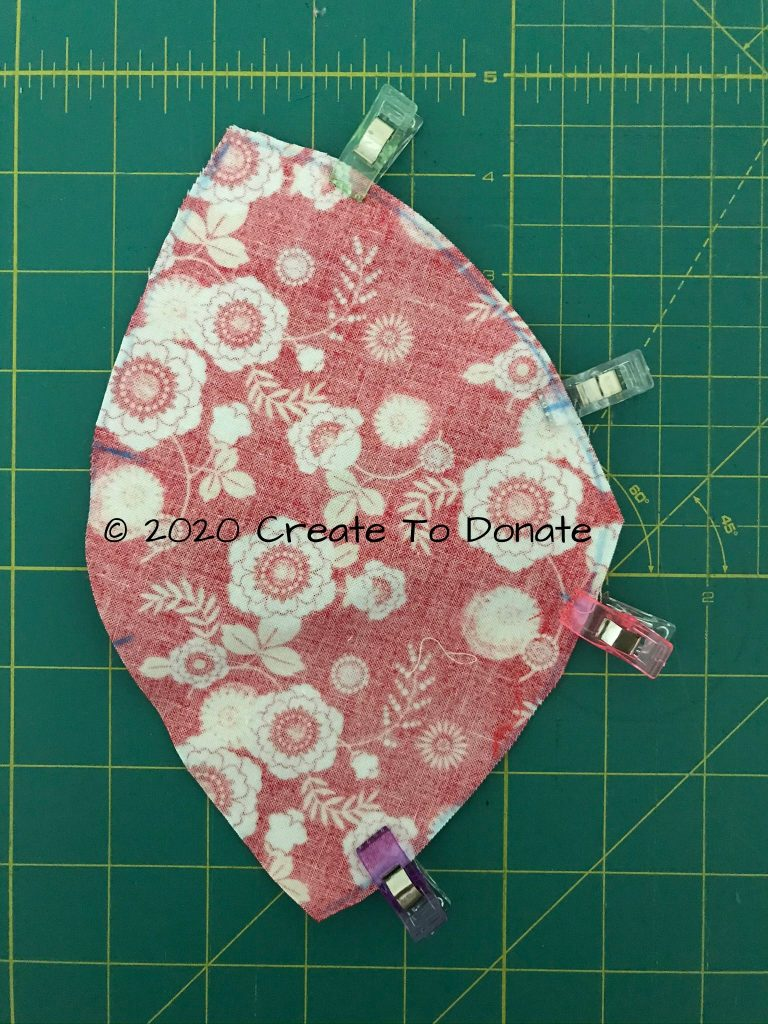 Sew and N95 mask cover