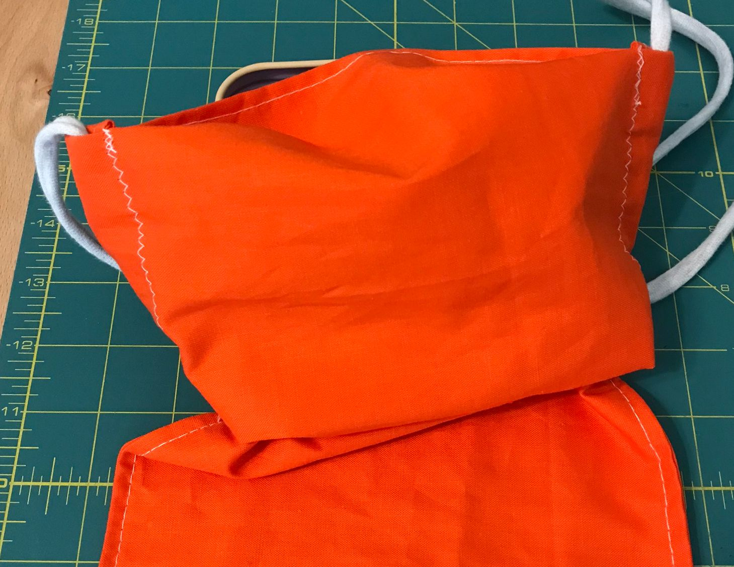 Tutorial: How Do I Sew A Face Mask For Beards? {Free Pattern}
