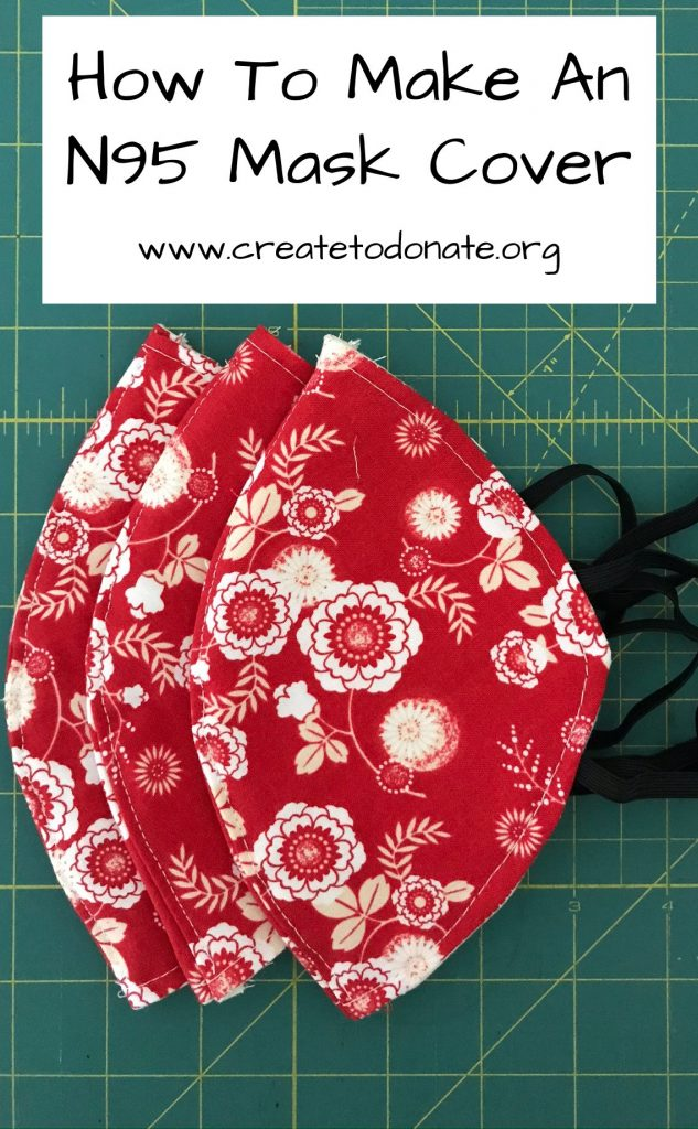 How to make an N95 mask cover Create To Donate