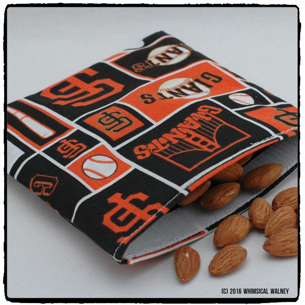 SF Giants reusable snack bag