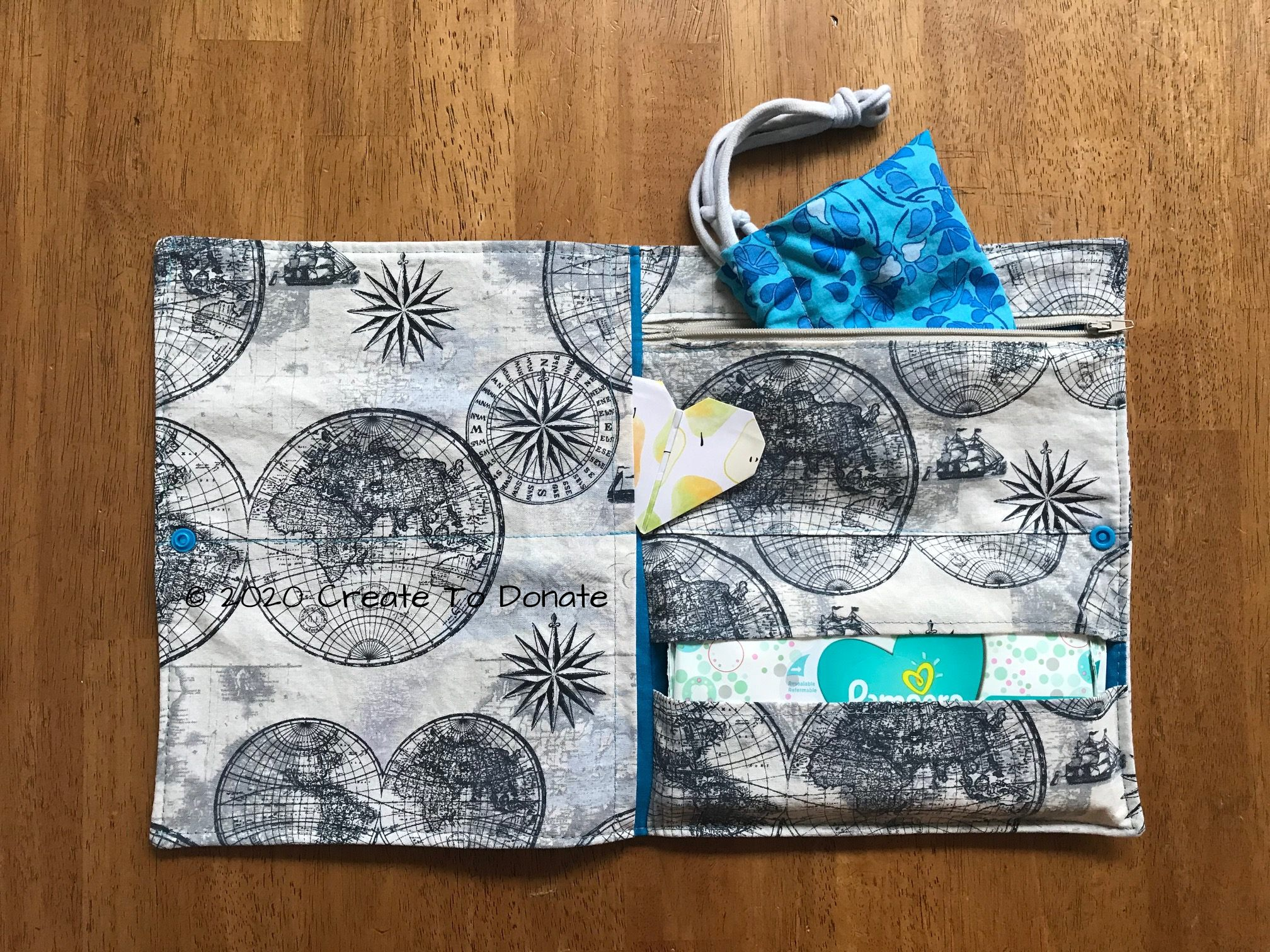 How To Sew A COVID Protection Kit For Back To School