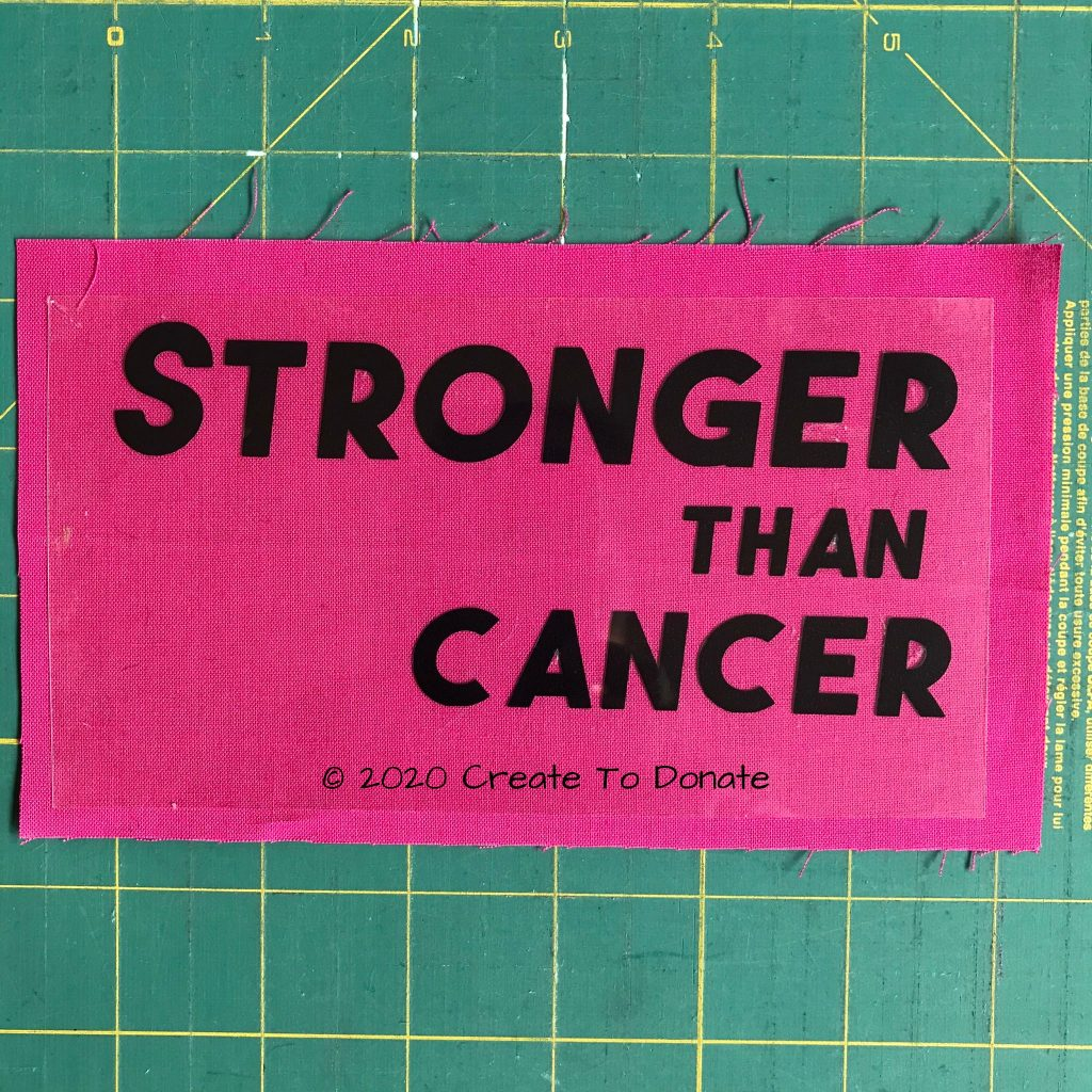 Stronger than cancer free svg port pillow mantra