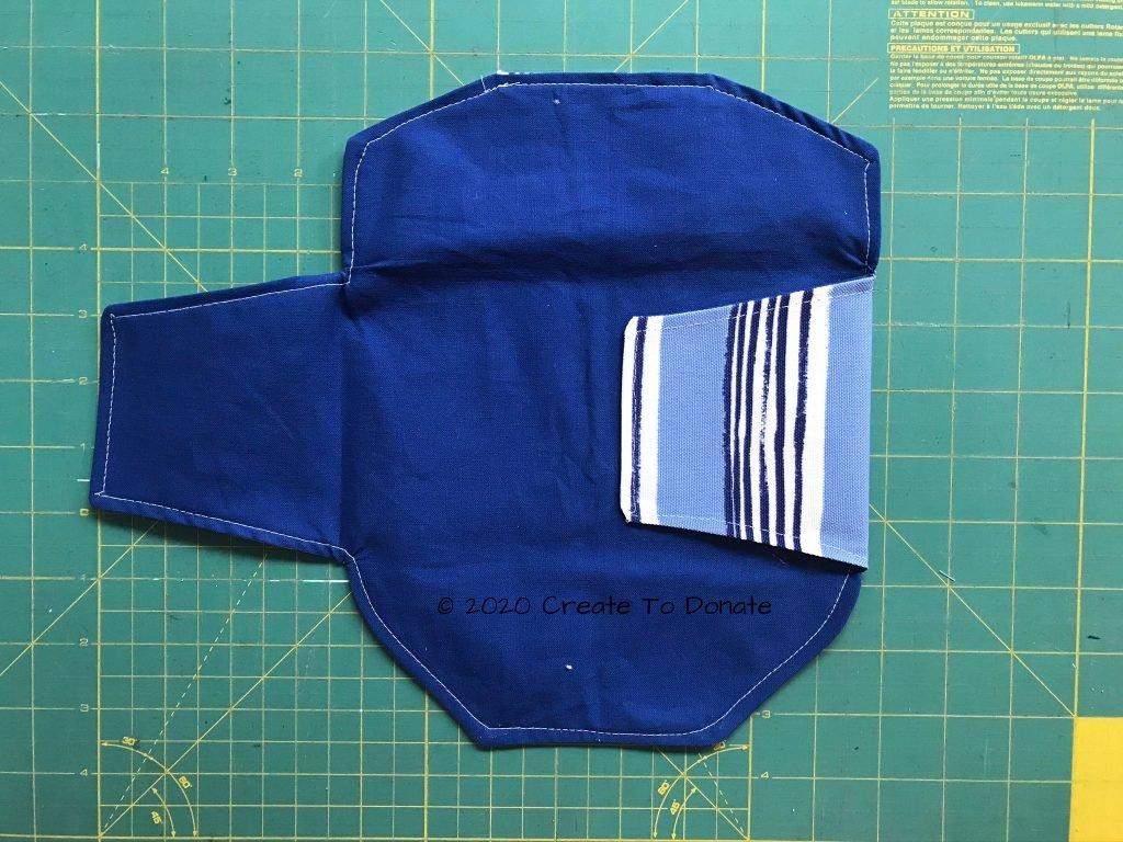 Top stitch entire wallet