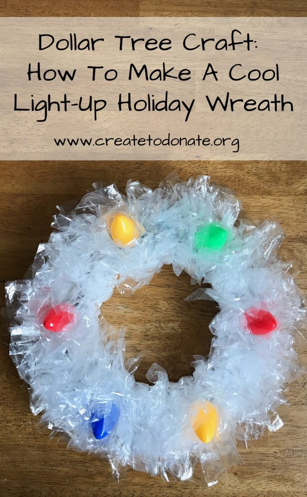 Dollar tree holiday wreath tutorial PINME