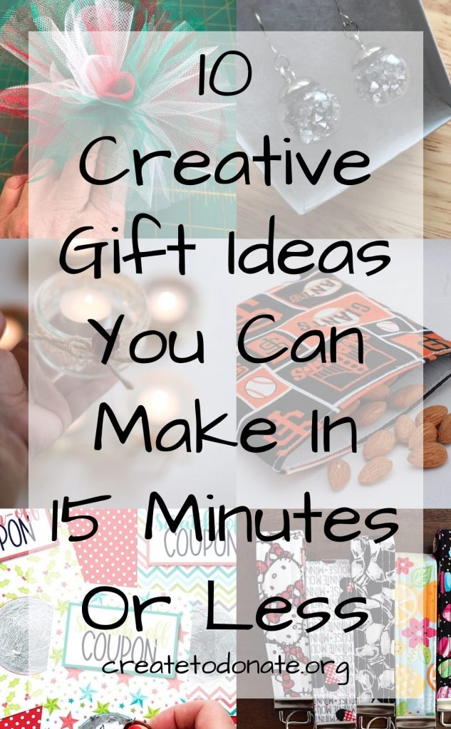 Creative gift ideas for the holidays PIN