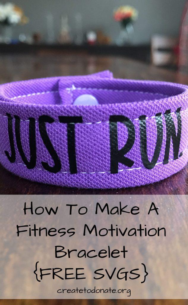 How to make a fitness motivation bracelet