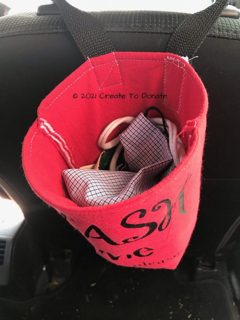 Face-mask-laundry-basket-car