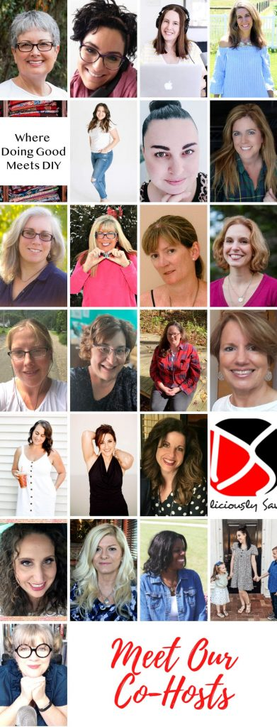 Collage of bloggers in Mother's Day Giveway 2021.