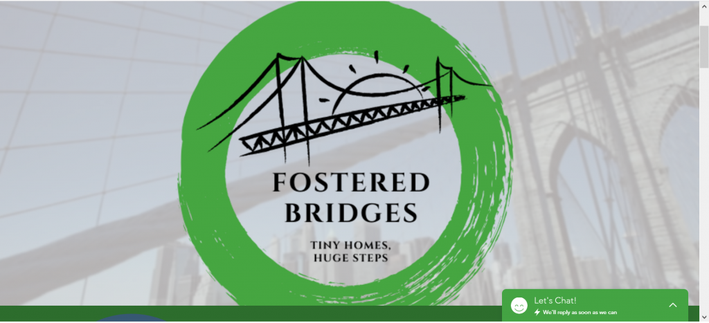 Fostered bridges logo. This nonprofit helps foster care youth who age out.